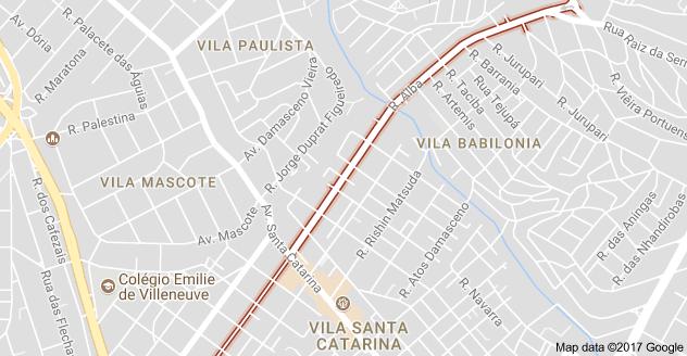 Rua Alba Terminal Guarapiranga