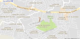 Rua Carlos Sara Zona Oeste