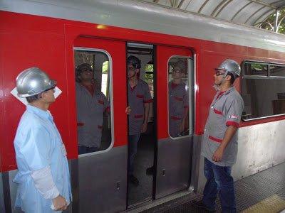 Técnico de Manutenção de Sistemas Metroferroviários aluno aprendiz