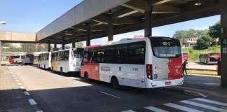 Transporte Público Terminal Cidade Tiradentes Greve dos Caminhoneiros