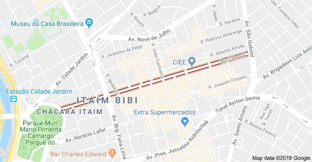 Rua Tabapuã Itaim Bibi