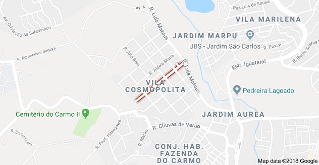 Rua Carapebus Barro Branco