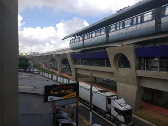 Estação Vila União da Linha 15-Prata