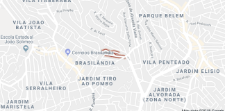 Rua Ruiva Brasilândia