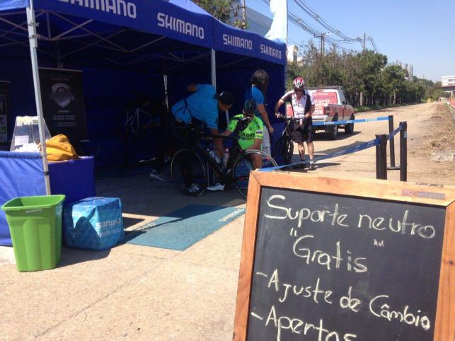 bicicletas suporte neutro shimano cptm