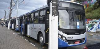 Novos ônibus Viação Caieiras Franco da Rocha Tarifa de ônibus em Caieiras