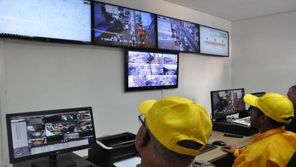 acidentes de trânsito central de videomonitoramento Carapicuíba