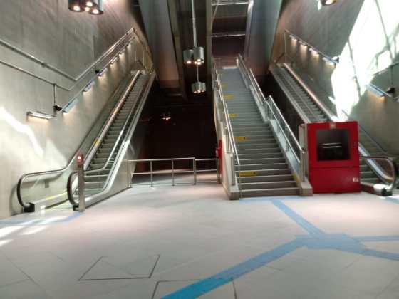 estação aacd servidor escadas