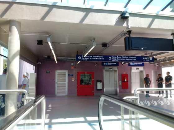 estação aacd servidor na entrada