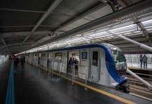 Estação Santo Amaro Linha 5-Lilás Linha 5