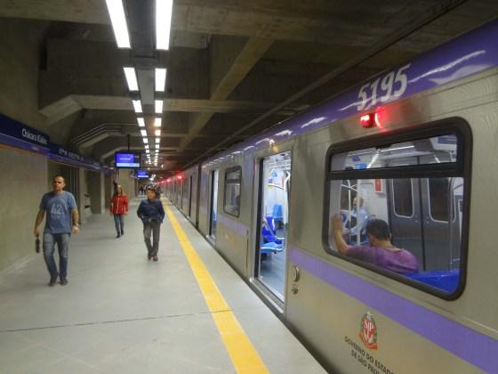 ViaMobilidade Linha 5-Lilás Estação Chácara Klabin Linha 5-Lilás ViaMobilidade