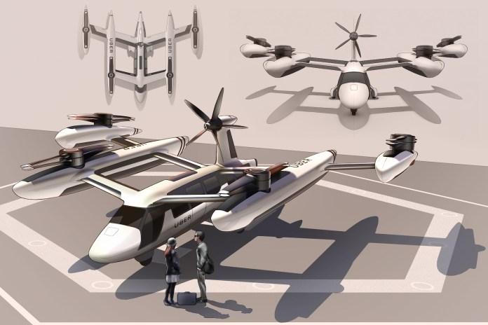 aeronave da uber