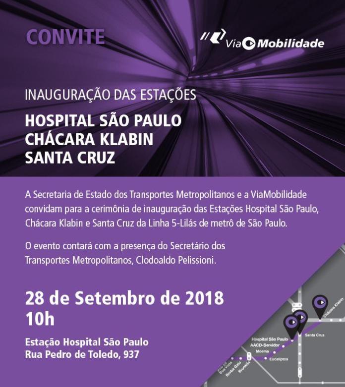convite inauguração