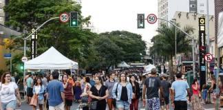 Caminhar Pinheiros Rua dos Pinheiros