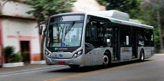 Projeto piloto ônibus transporte coletivo