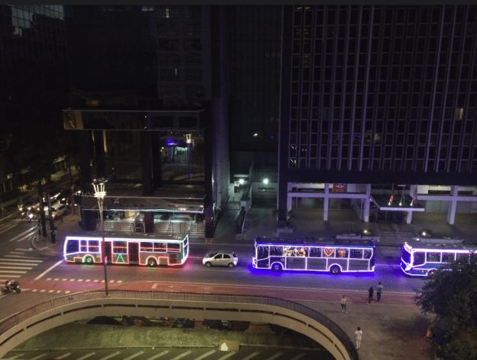ônibus natalinos sp