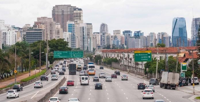 Marginal Pinheiros Segurança viária Motociclistas