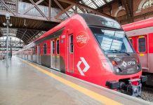 Polícia Militar Intervalos Novo trem Linha 7 Linha 7-Rubi Série 9500
