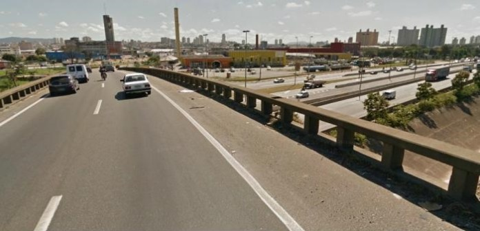 ponte presidente dutra Marginal Tietê