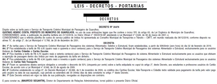 decreto guarulhos