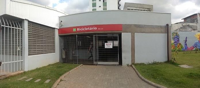 Bicicletário da Estação Suzano