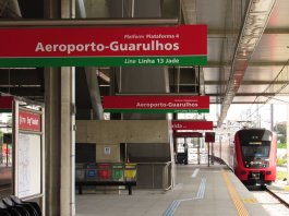 Airport Express Engenheiro Goulart Linha 13-Jade