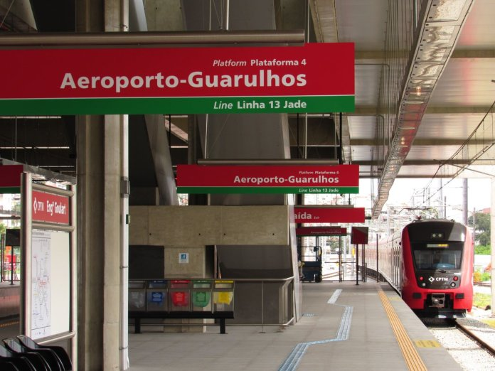 Airport Express Engenheiro Goulart Linha 13-Jade Linha 12-Safira
