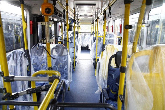 Transcap novos ônibus
