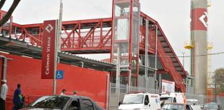 Estação Calmon Viana da Linha 12-Safira