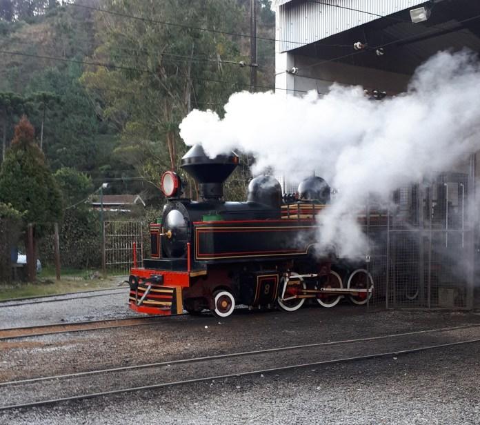 Locomotiva a vapor