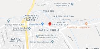 Avenida Ragueb Chohfi com a Rua Luiza de Jesus Ferreira