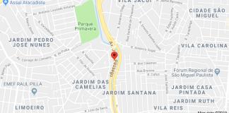 Avenida Jacu-Pêssego na Zona Leste