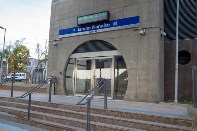 Estação Jardim Planalto Acesso
