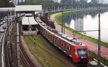 Trem da Linha 9-Esmeralda