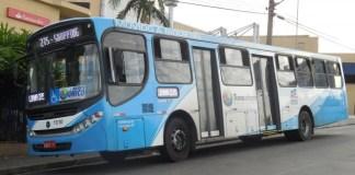 Ônibus em Guarulhos da Viação Urbana