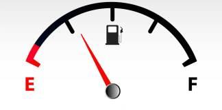Combustível na reserva