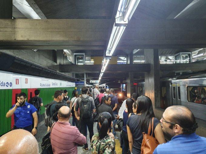 Estação Santa Cruz Linha 1-Azul