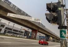 Faixa acidentes de trânsito