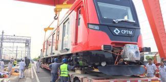 Novo trem da Linha 13-Jade