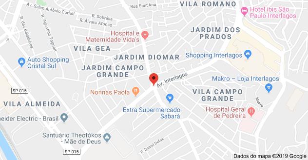 Avenida Interlagos Avenida Nossa Senhora do Sabará