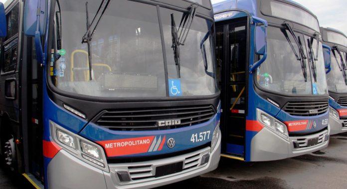 Linhas Meia Tarifa Ponte dos Barreiros Linhas de ônibus EMTU Linhas intermunicipais Novos ônibus