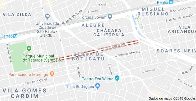 Rua Diamante Preto