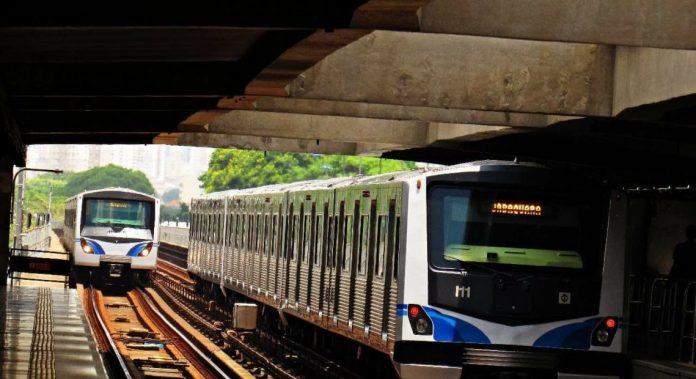 Trens da Linha 1-Azul
