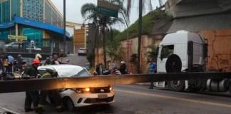 Viga de sacrifício Avenida Guarulhos