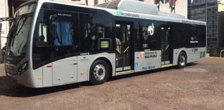 Ônibus elétricos São Paulo