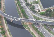Acesso da Marginal Tietê