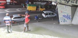 Acidente no quilômetro 90 da rodovia Fernão Dias