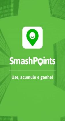 SmashPoints Tela inicial