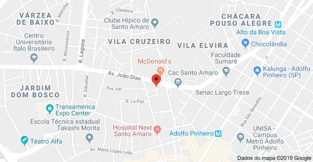 Região das ruas João de Araújo Prado e Nilo Placona