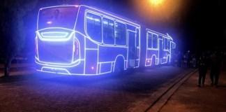 Ônibus natalinos Guarulhos